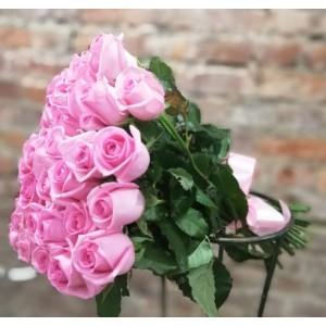 Букет 51 розовой розы , (45 см)