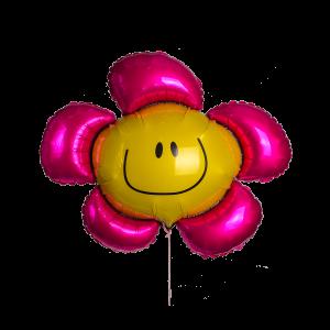 Шар гелиевый в форме цветка