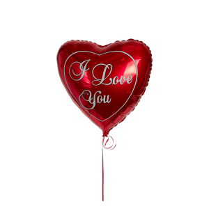 "Шар гелиевый в форме сердечка ""I love you"""